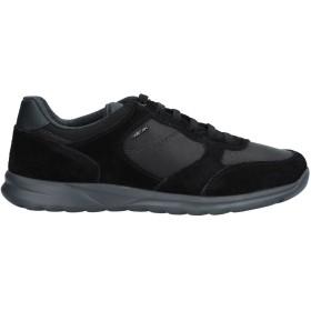 《期間限定セール開催中!》GEOX メンズ スニーカー&テニスシューズ(ローカット) ブラック 39 紡績繊維 / 革