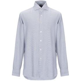 《期間限定 セール開催中》ALESSANDRO GHERARDI メンズ シャツ ホワイト 40 コットン 100%