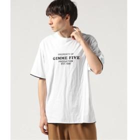 [マルイ] メンズTシャツ(GIMME FIVE REVERSIBLE Tシャツ)/ジャーナルスタンダード(メンズ)(JOURNAL STANDARD MEN'S)