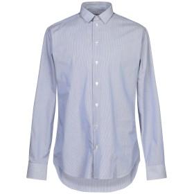 《期間限定セール開催中!》ARMANI COLLEZIONI メンズ シャツ ブルー 41 コットン 100%