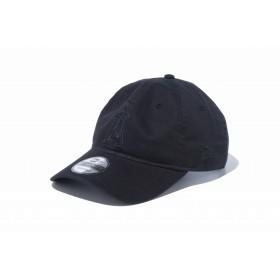 【ニューエラ公式】 9TWENTY クロスストラップ MLBカスタム ロサンゼルス・エンゼルス ブラック × ブラック メンズ レディース 56.8 - 60.6cm MLB キャップ 帽子 12119376 NEW ERA