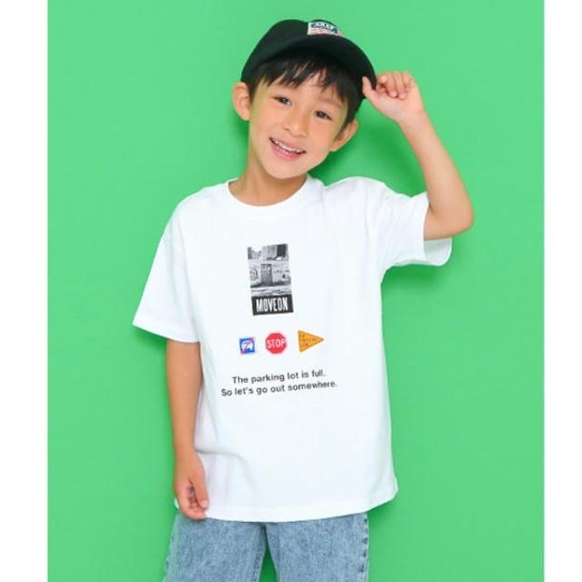 [マルイ]【セール】フォトプリントビッグTシャツ/アナップキッズ&ガール(ANAP KIDS&GIRL)