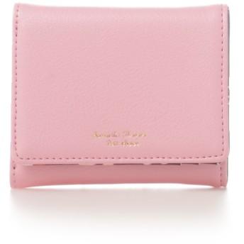 サマンサタバサプチチョイス トロピカルモチーフシリーズ(ミニ財布) ピンク
