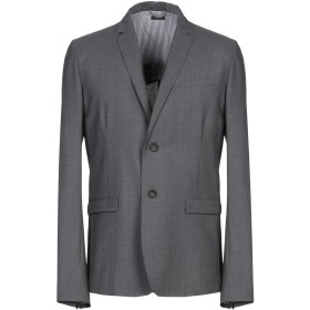 《セール開催中》PAOLO PECORA メンズ テーラードジャケット 鉛色 50 バージンウール 97% / ポリウレタン 3%