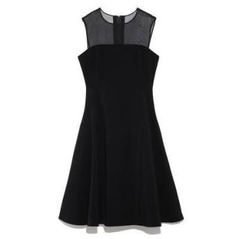 FRAY I.D ベア切り替えドレス ブラック
