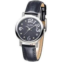 【ALBA】天使心鑽甜美淑女手錶(AG8451X1)