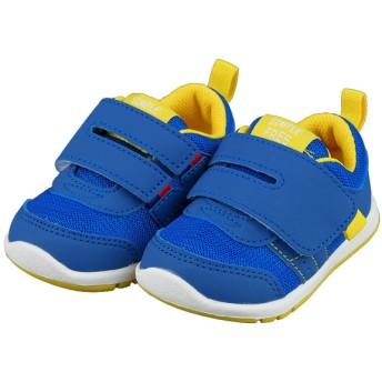 [12.5~14.5cm]シンプルフリー 履きやすいシューズ ブルー シューズ・ファッション小物 ベビーシューズ(~14.5cm) (69)