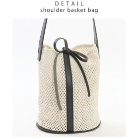グローウィングリッチ [バッグ 鞄 雑貨 小物]インナーバッグ付きで小物整理も◎ バケツ型かごバッグ[190619] レディース ブラック ワンサイズ 【GROWINGRICH】