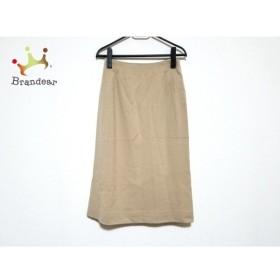 シビラ Sybilla ロングスカート サイズ63-90 レディース 美品 ベージュ  値下げ 20191016