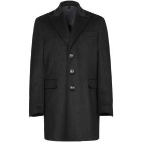 《期間限定 セール開催中》DOMENICO TAGLIENTE メンズ コート ブラック 46 ウール 75% / ナイロン 20% / カシミヤ 5%