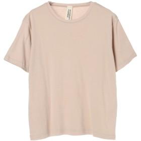 【オンワード】 SEVENDAYS=SUNDAY(セブンデイズ サンデイ) ・ベーシックTシャツ Beige M レディース 【送料無料】