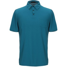 《期間限定 セール開催中》ROBERTO COLLINA メンズ ポロシャツ ディープジェード 48 コットン 100%