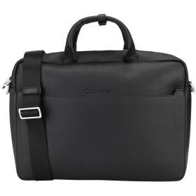 《セール開催中》CALVIN KLEIN メンズ ブリーフケース ブラック ポリウレタン 100% SLIVER 1G LAPTOP BAG