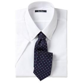 【メンズ】 形態安定ビジネスシャツ(半袖) ■カラー:ボタンダウン ■サイズ:L