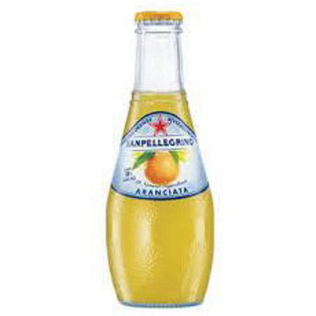 S.Pellegrino 聖沛黎洛氣泡 水果水(葡萄柚口味)200mlX24瓶X箱(玻璃瓶)