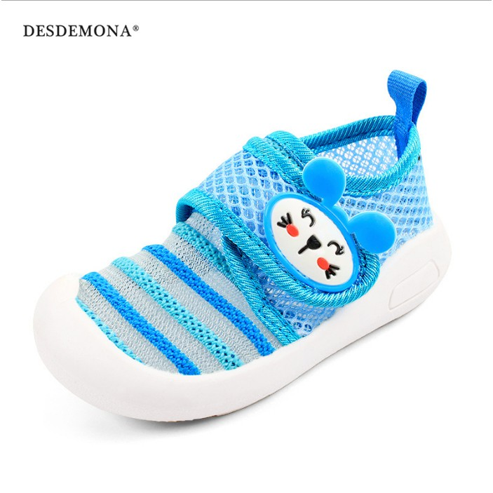 童鞋女寶寶網布鞋子1-3歲2019新款夏透氣軟底男嬰兒2學步鞋防滑學步鞋