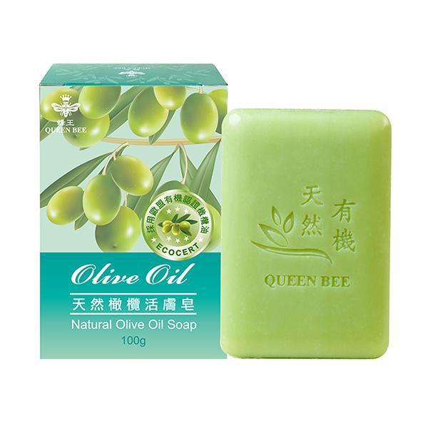 [買1送1]蜂王 天然橄欖活膚皂100g 【康是美】《下單1出貨2》