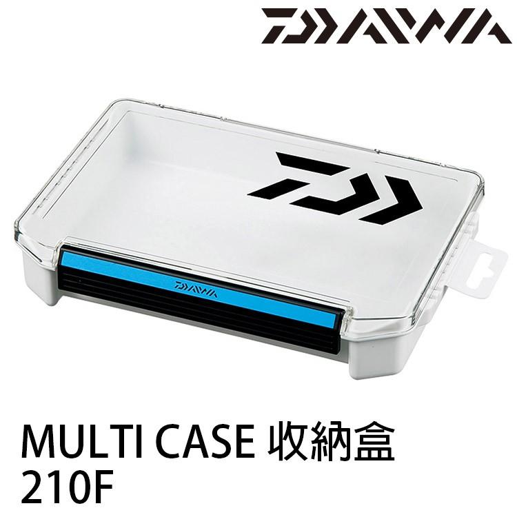 DAIWA MULTI CASE 210F 收納盒 [漁拓釣具] [白]