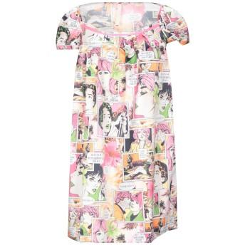 《セール開催中》FEMME by MICHELE ROSSI レディース ミニワンピース&ドレス ピンク 40 ポリエステル 100%