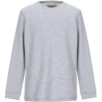 《セール開催中》CORELATE メンズ スウェットシャツ グレー M コットン 100%