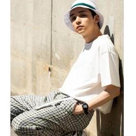 [マルイ]【セール】USAコットンクルーネックポケットTシャツ/ウィゴー(メンズ)(WEGO)