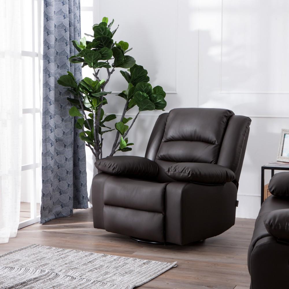 【生活工場】DEEP 單人座功能沙發椅-咖啡色