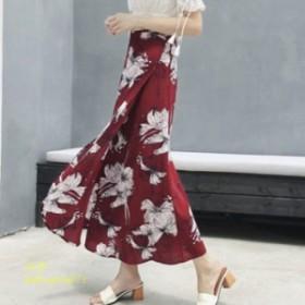 パレオスカート パレオ スカート 花柄 春 夏 ラップ 巻きスカート スカート パレオ レディース 夏コーデ ロング丈 ラップスカート きれい