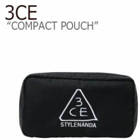 スタイルナンダ 3CE ポーチ STYLE NANDA 3CE レディース COMPACT POUCH コンパクトポーチ BLACK ブラック 31952119019 ACC