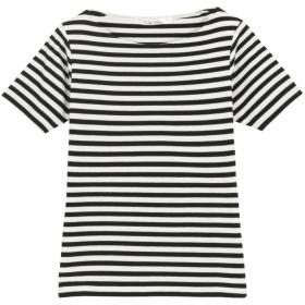 コウベレタス KOBE LETTUCE Bネック前身二重半袖Tシャツ [C365D] (ボーダー)