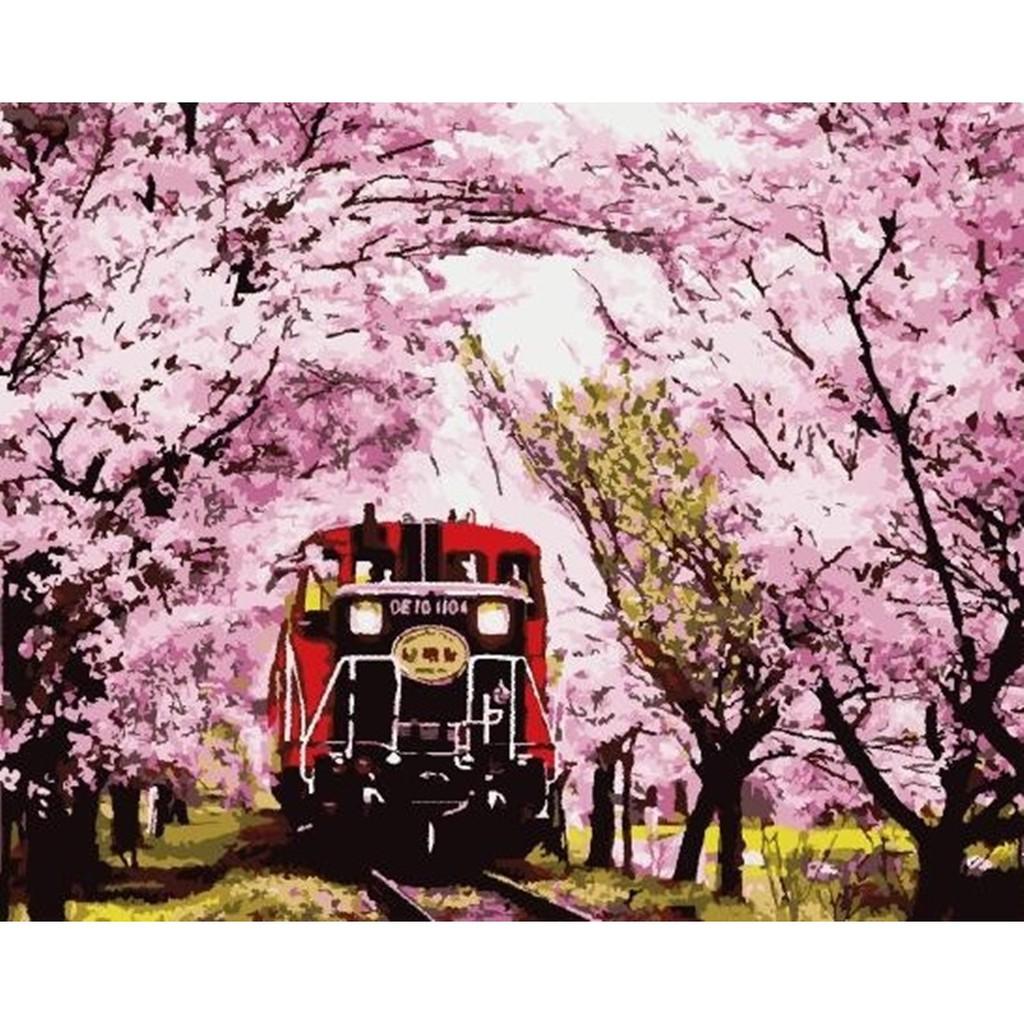 ArtLife 藝術生活 現貨 DIY 數字 油畫 彩繪 DT160 夢迴嵐山 40X50cm