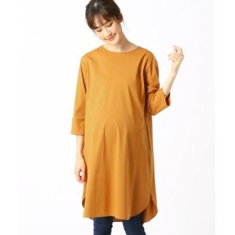 COMME CA BLANC D'OEUF / コムサブロンドオフ Tシャツドレス