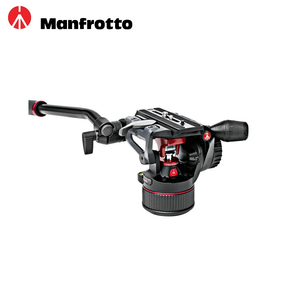 Manfrotto 曼富圖 NITROTECH系列 MVHN8AH 液壓雲台 Nitro N8