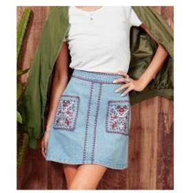 ANAP(アナップ)【anap mimpi】 刺繍スカート
