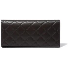 PATRICK COX ロゴエンボス かぶせ型長財布