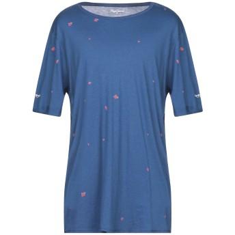 《セール開催中》PEPE JEANS メンズ T シャツ ブルー S コットン 50% / レーヨン 50%