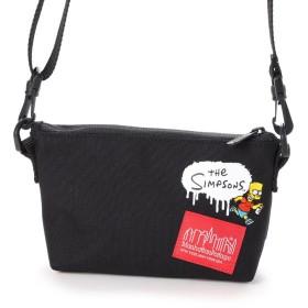 マンハッタンポーテージ Manhattan Portage Manhattan Portage×The Simpsons Mini Clutch (Black)