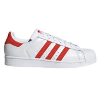 【ABC-MART:シューズ】EF9237 SUPERSTAR WHITE/RED 591617-0001