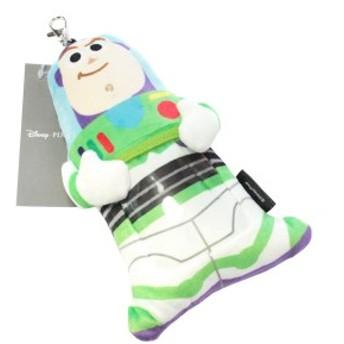 トイストーリー4 HUG リール付き パスケース バズ DZ-80631 ぬいぐるみ 定期入れ かわいい ディズニー グッズ デルフィーノ ゆうパケット