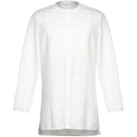 《期間限定セール開催中!》BERNA メンズ シャツ ホワイト L ポリエステル 65% / コットン 35%