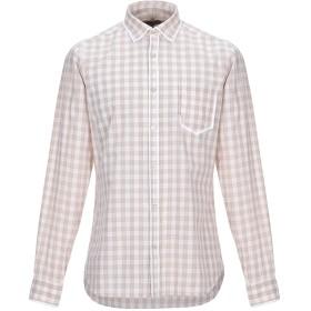 《セール開催中》DNL メンズ シャツ サンド 39 コットン 100%
