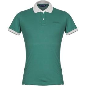 《期間限定セール開催中!》JECKERSON メンズ ポロシャツ グリーン S コットン 95% / ポリウレタン 5%