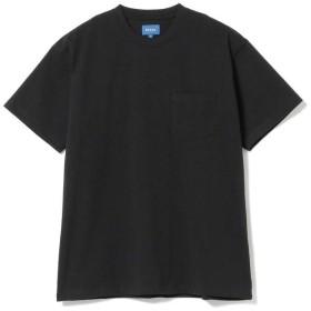 ビームス メン BEAMS / ハイゲージ ポケット Tシャツ メンズ BLACK S 【BEAMS MEN】