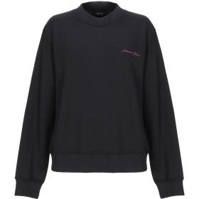 《セール開催中》ARMANI JEANS レディース スウェットシャツ ブラック 36 コットン 100%