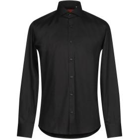 《期間限定 セール開催中》ALV ANDARE LONTANO VIAGGIANDO メンズ シャツ ブラック 39 コットン 100%