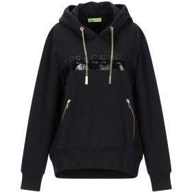 《セール開催中》VERSACE JEANS レディース スウェットシャツ ブラック XXS コットン 95% / ポリウレタン 5%