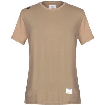 《セール開催中》THE EDITOR メンズ T シャツ カーキ L コットン 100%