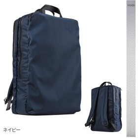 カバンのセレクション アンクール リュック ビジネスリュック メンズ スクエア ブランド 撥水 防水 大容量 Un coeur NTR K907224 ユニセックス ネイビー フリー 【Bag & Luggage SELECTION】