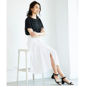 [マルイ]【セール】【洗える】DRAPE DOT スカート/自由区(JIYUKU)