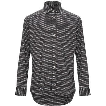 《期間限定セール開催中!》ETRO メンズ シャツ ブラック 39 コットン 100%