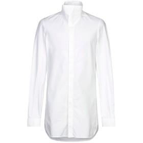 《セール開催中》RICK OWENS メンズ シャツ ホワイト 48 コットン 100%